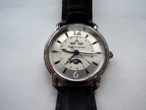 Maurice Lacroix Moonphase Triple Date Masterpiece Phase De Lune Boxes Papers Men