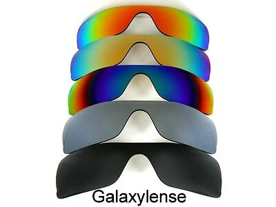 Replacement Lenses For Oakley Batwolf Sunglasses Black&Silver&Green&Gold&Red  for sale  Shipping to India