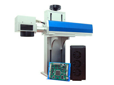 New 10watt Q-switched Industrial Fiber Laser Marker Engraving System