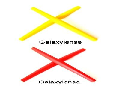 Galaxy Ear Socks For Oakley C Wire New 2011,Half Wire 2.0,Whisker Red/Yellow for sale  Orlando