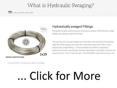 Hydraulic Swaging tool on the Left                                                  Mechanical Swaging tool on the Right
