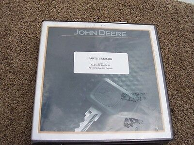 John Deere 410j Backhoe Loader Parts Catalog Manual Pc10070