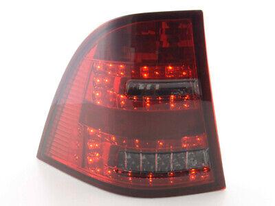 LED Rückleuchten Set Mercedes M-Klasse Typ W163 Bj. 98-05 rot/schwarz