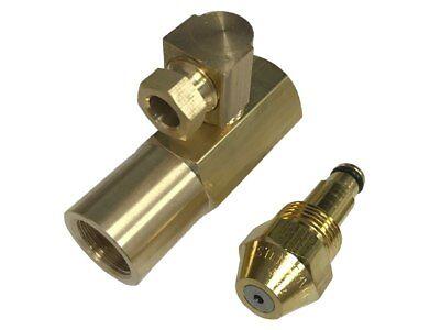 Delavan 30609-9 0.85 Gph Waste Oil Nozzle With En4068 Brass Adapter