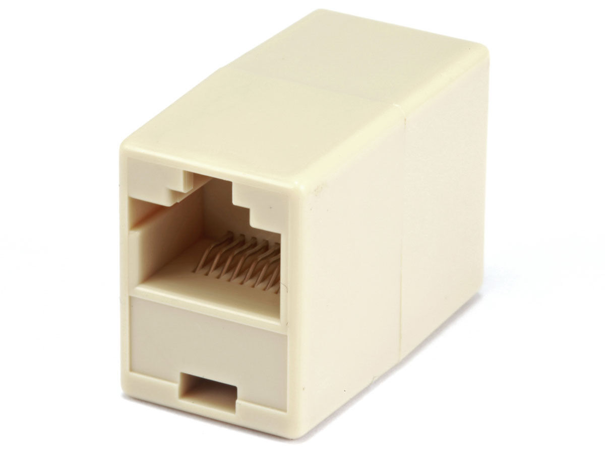 New Cat5e CAT5 RJ45 Inline Ethernet Network Patch Cable Coupler, 8P8C Straight Computer Cables & Connectors