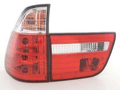 RÜCKLEUCHTEN FÜR BMW X5 E53 09.99-06 ROT WEIß
