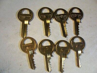 1 Set Master  M1  4 Pin Depth Keys 0-7  Locksmith