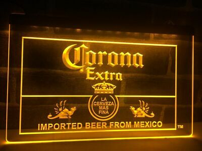 Corona Extra Beer Led Neon Light Sign Bar Pub Club Man Cave Advertise Decor Gift