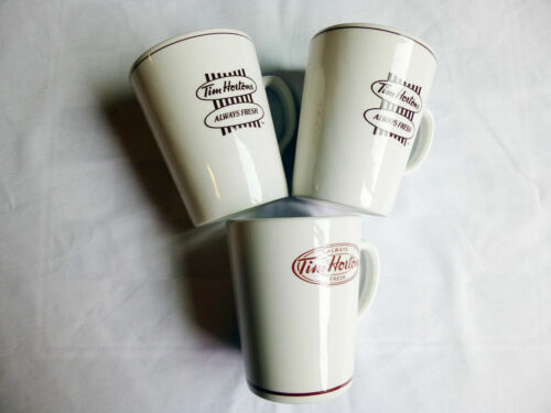 Tim Horton's Steelite England Tim Horton's Always Fresh Coffee Mugs Lot Of 3 14o