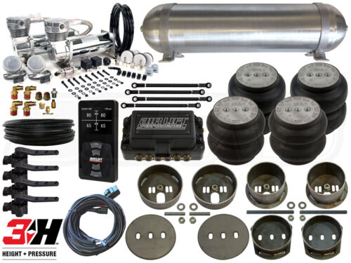 Complete Airbag Suspension Kit W/ Air Lift 3h, 65-72 Mercedes W108 Level 4