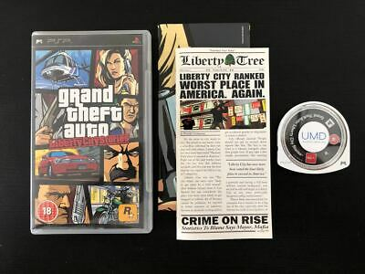 GTA Grand Theft Auto Vice City Stores - Complete - PlayStation PSP Portable