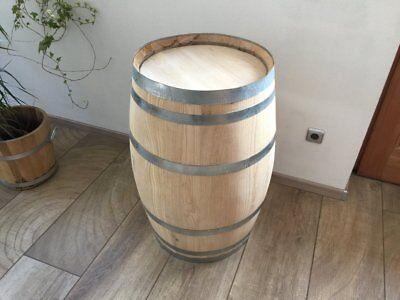 Faßtisch Stehtisch Holzfaß Weinfaß gebraucht Barriquefaß kastanieTischfaß 100L online kaufen