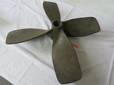 Alte Schiffsschraube aus Bronze / Messing Schiffspropeller Ø 63,5 cm ca 23 kg