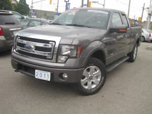 2011 FORD F-150 FX4 |Leather • 4X4 • 5.0L •EXT Cab • Off-Road •