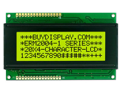 3.3v 20x4 Character Lcd Display Modulewtutorialhd44780splc780 Controller