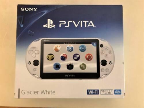 SONY+PS+Vita+PCH-2000+ZA22+Glacier+White+Console+Wi-Fi+model+JAPAN+game