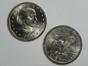 1999-P Susan B Anthony Dollar - Uncirculated SBA - Philadelphia Mint