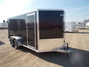 2017 ALCOM Xpress 7 x 16 TA Enclosed Cargo Trailer