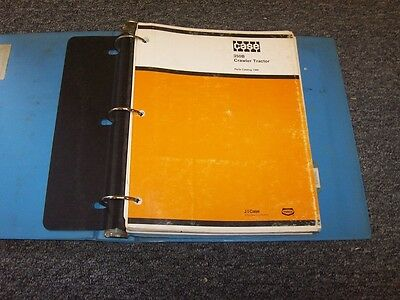 Case 350b Bulldozer Dozer Crawler Tractor Original Factory Parts Catalog Manual
