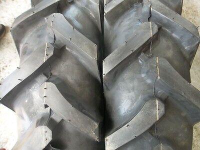 One 750x16 750-16 Terramite Backhoe Deere Kubota 8 Ply R1 Bar Lug Tractor Tire