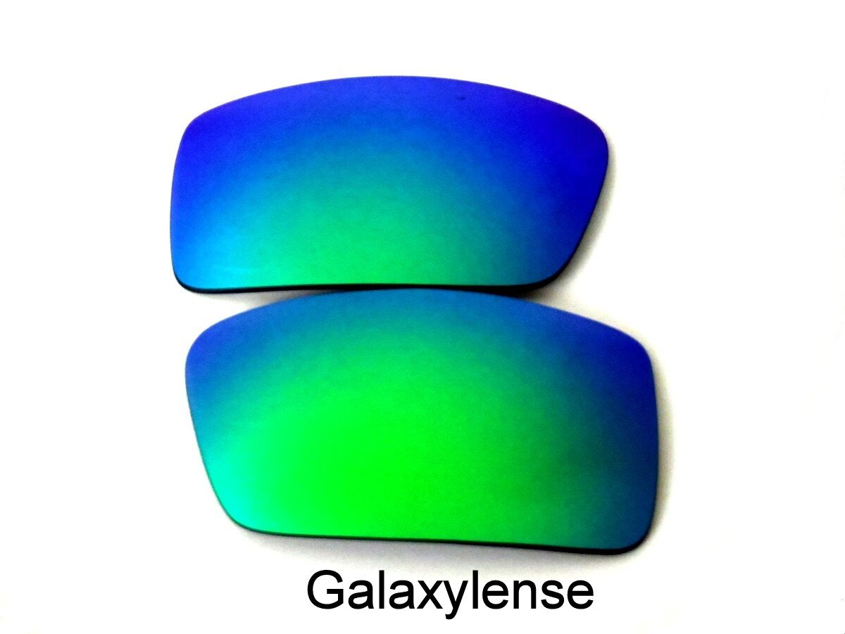 4013d53086 Galaxy Replacement Lenses For Oakley Gascan Small Green Polarized 100% UVAB