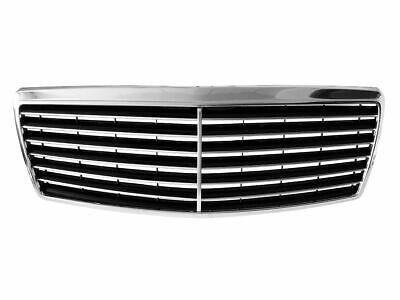 Für Mercedes S-Kla. W140 95-98 Kühlergrill Sportgrill Gitter Grill Chrom passend