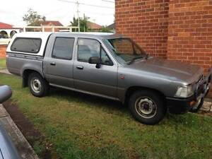 1996 Toyota Hilux Dual Cab Ute $3000 Fairfield Fairfield Area Preview