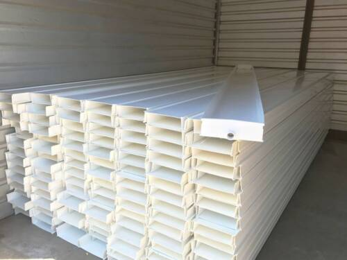 Lot of (100) Large 4m PVC Trays - NEW - Hydroponics, Fodder, etc.