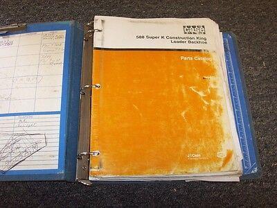 Case 580 Super K 580sk Construction King Ck Loader Backhoe Parts Catalog Manual