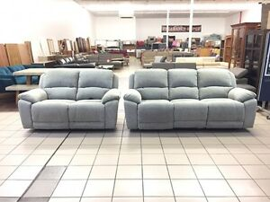 3 + 2 SEATER ELECTRIC RECLINER FABRIC LOUNGES Logan Central Logan Area Preview