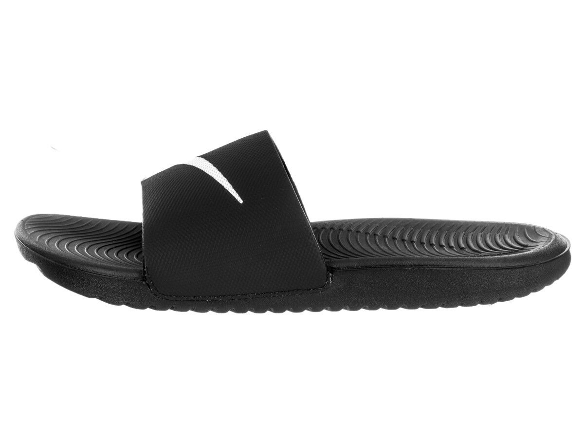promo code 188a0 f5fe8 Мужские домашние тапочки New Nike Kawa Slide 832646-010 Black Slippers Men