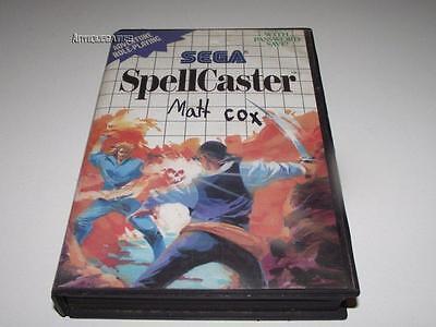 Spell Caster Spellcaster Sega Master System PAL Preloved *Complete* ()