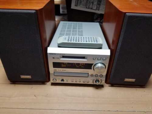 ONKYO FR-X9A CD MD Compact Disk Mini Disk With remote control and speaker