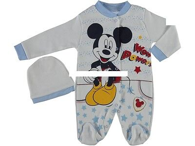 NEU ♥ Strampler Overall Baby Schlafanzug Gr. 56 2-Set