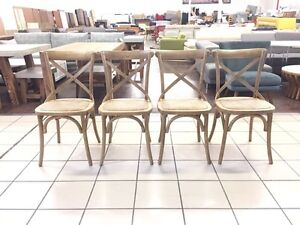CROSS BACK DINING CHAIRS ($105 EACH) MANY AVAILABLE Logan Central Logan Area Preview