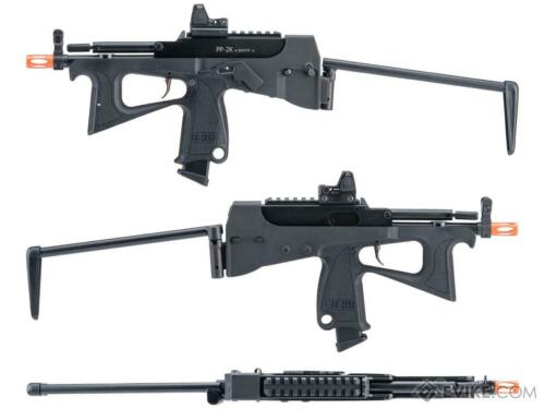 Modify Tech PP-2k Gas Blowback Airsoft SMG WITH SCOPE  Black,Pink or white!!!!!!