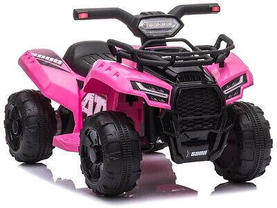 Elektro Quad ATV S5000 Fahrzeug elektrisch 6V in Pink für Kinder ab 2,5 Jahren