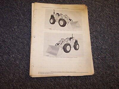 John Deere 544 Bulldozer Dozer Loader Original Parts Catalog Manual Pc1068