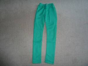Girls: Pumpkin Patch, Green Skinny Jeans. 12yrs (XS). Excel cond.