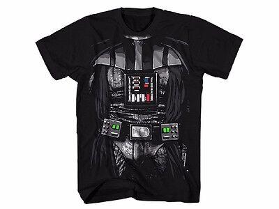 Star Wars Darth Vader Kostüm Lizenziert Erwachsenen T-Shirt
