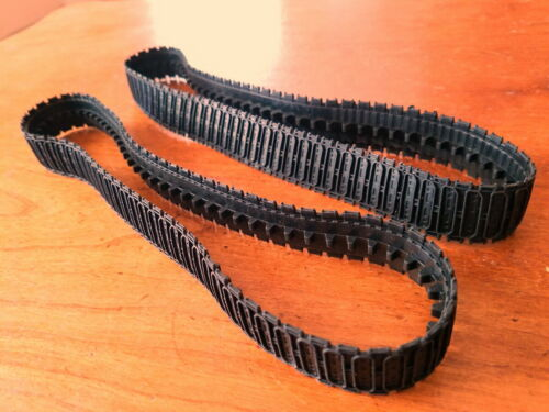 Replacement Rubber Tracks Treads Toy Tractor Bulldozer