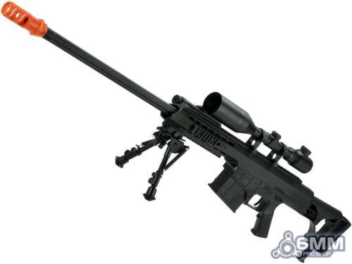Barrett Licensed M98B MRAD w/ Folding Stock Airsoft AEG Sniper Rifle 6mmProShop