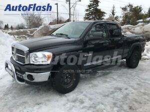 2008 Dodge Ram 1500 SLT QUAD-CAB *Mags *Cuir/Leather *Toit/Roof