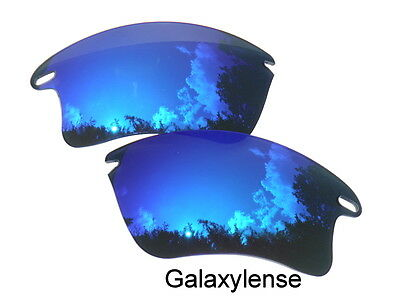 Galaxy Replacement Lenses For Oakley Fast Jacket XL Sunglasses Blue Polarized