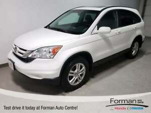 2011 Honda CR-V EX |Dual Zone|Pwr Seat|AWD|Local|Sunroof|Warrant