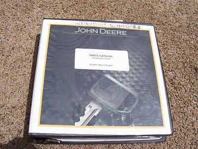 John Deere 710j Backhoe Loader Parts Catalog Manual Pc10007