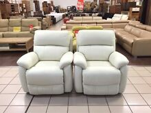 100% LEATHER STRATFORD PEARL RECLINERS Logan Central Logan Area Preview