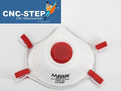 1 Stück FFP3 Mundschutz Atemschutzmaske mit Ventil