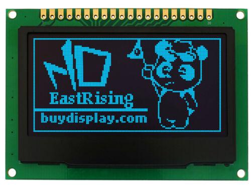 "Blue 128x64 2.4"" inch OLED Display Module w/Breakout Board,Tutorial for Arduino"