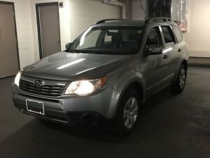 2010 Subaru Forester 2.5 X AWD + CERTIFIED + E-Tested